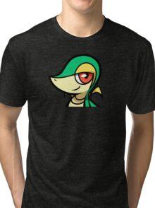 Snivy Tri-blend T-Shirt