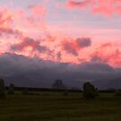 Sunset at Castlerigg by Gordon Hewstone