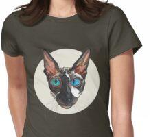 Ludenben the Cornish Rex Womens Fitted T-Shirt