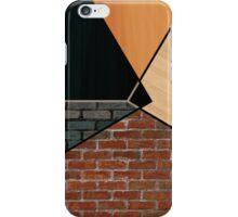 Geometric Wall Design iPhone Case/Skin