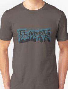 Flaming Edgar (blue flames version) T-Shirt