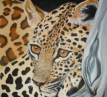 Leopards Stare by Cherie Roe Dirksen