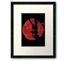 Apple Moon Framed Print