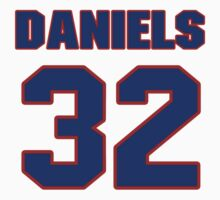 National Hockey player Jeff Daniels jersey 32 by imsport