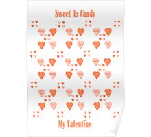 Valentine Sweets Poster