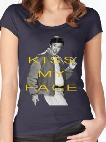 KISS MY FACE Women's Fitted Scoop T-Shirt