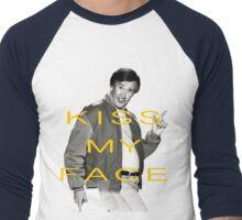 KISS MY FACE Men's Baseball ¾ T-Shirt
