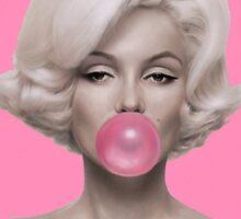 Hot Pink Monroe by GVibesShop