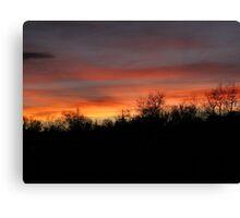 Super Bowl Sunset Canvas Print