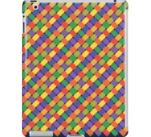 colorful braided pattern iPad Case/Skin