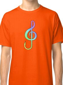 Music Hooks Colorful Classic T-Shirt