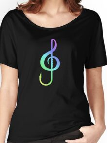 Music Hooks Colorful Women's Relaxed Fit T-Shirt