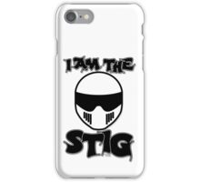 The Stig - I Am The Stig iPhone Case/Skin