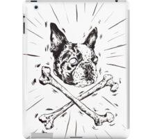 Pirate Boston Terrier Flag iPad Case/Skin