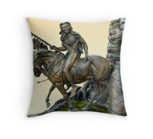 The Horseman Throw Pillow