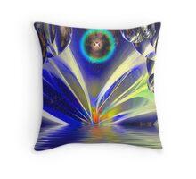 Cosmic Sunrise Throw Pillow