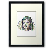 Impossible Girl Framed Print