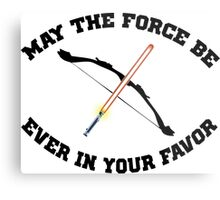 THE HUNGER GAMES MEETS STAR WARS Metal Print