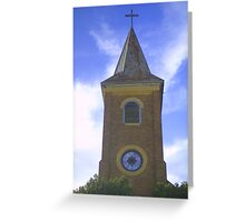 St. John's steeple Greeting Card