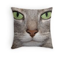 She Means Business Throw Pillow