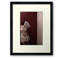 An Untitiled Self Portrait Framed Print