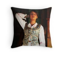 Lithuania National Costume Throw Pillow