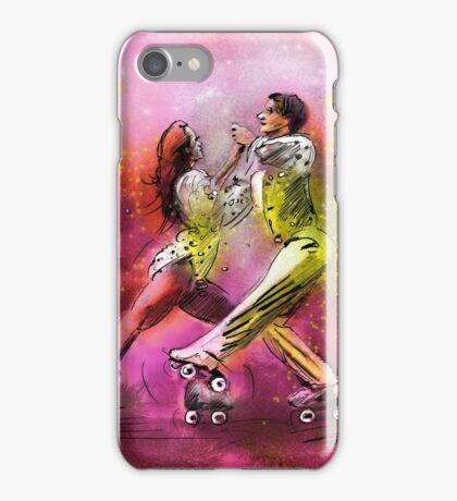 Artistic Roller Skating 01 iPhone Case/Skin
