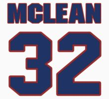 National Hockey player Kirk McLean jersey 32 by imsport