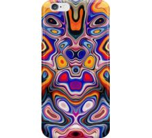 Faces In Abstract Shapes 3 iPhone Case/Skin
