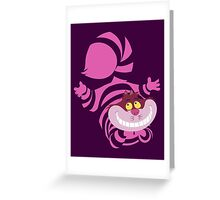 De-Su Art - Cheshire the cat Greeting Card