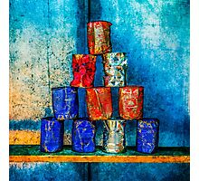 Soup Cans - Square Meal Photographic Print