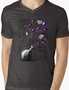 Mushrooms, popies, sugar and spice... Mens V-Neck T-Shirt