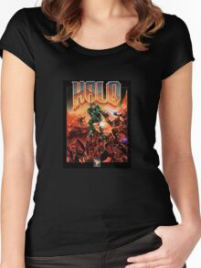 Doom/Halo Women's Fitted Scoop T-Shirt