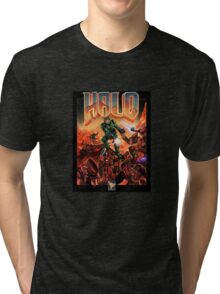 Doom/Halo Tri-blend T-Shirt