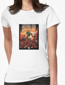 Doom/Halo Womens Fitted T-Shirt