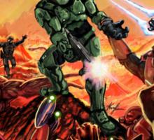 Doom/Halo Sticker
