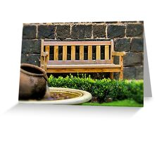 """A Place of Quiet Rest"" Greeting Card"