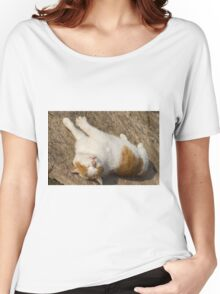 cute cat Women's Relaxed Fit T-Shirt