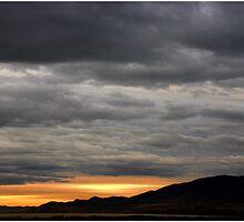 Winter Sunset, Utah Lake by Ryan Houston
