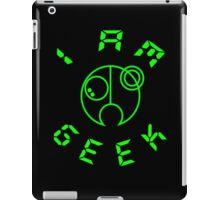 I Am GEEK iPad Case/Skin
