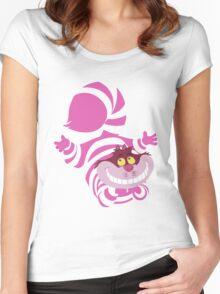 De-Su Art - Cheshire the cat Women's Fitted Scoop T-Shirt