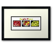 Apple Times Three Framed Print