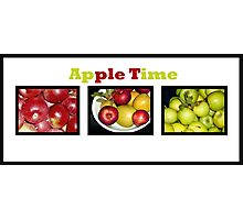 Apple Times Three Photographic Print