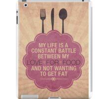 Constant Battle iPad Case/Skin