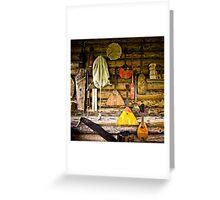 Folk musical instruments Greeting Card
