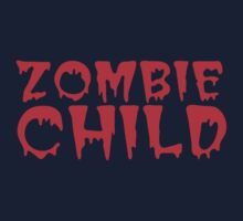Zombie child in cool dripping font One Piece - Long Sleeve