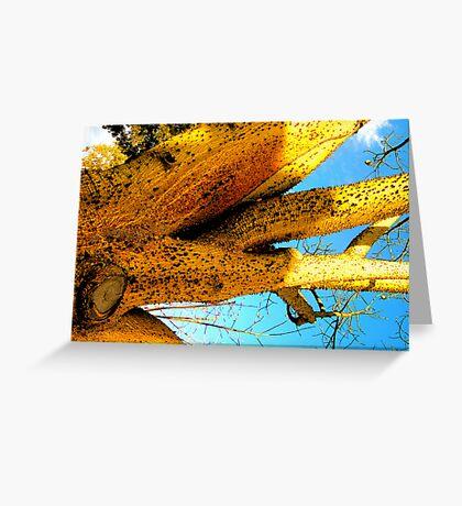 Alien Cacti Greeting Card