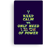 1.21 GW of Power Canvas Print