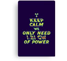 1.21 GW of Power Canvas Print