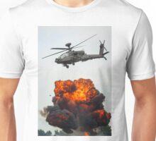 Apache Hellfire Strike Unisex T-Shirt